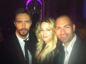 Antonio Sepe con Alex Belli e Laura Chiatti