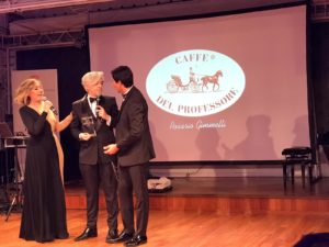 Morgan al Sanremo Gran Galà Premio Eccellenze Italia
