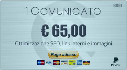 Invio 1 Comunicato