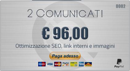 Invio 2 Comunicati
