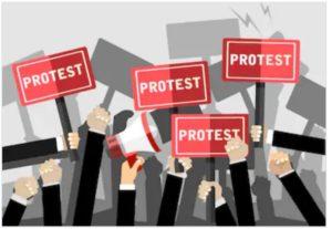 proteste al sud