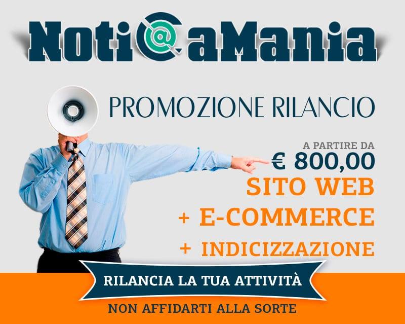 NotiCaMania promozione rilancio