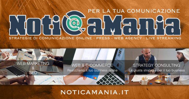 NotiCaMania - strategie di comunicazione online - press - web agency - live streaming