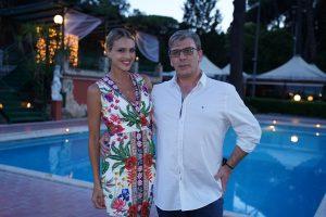 Carmine Pagliuca e Sofia Bruscoli