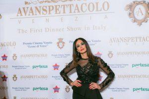 Maria Grazia Cucinotta Avanspettacolo Venezia