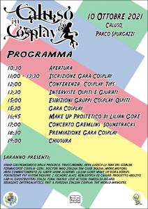 Programma completo Caluso in Cosplay